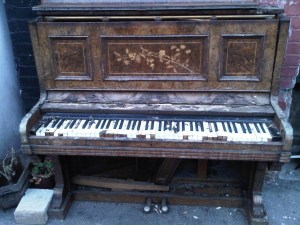 Does your piano look like this in September?